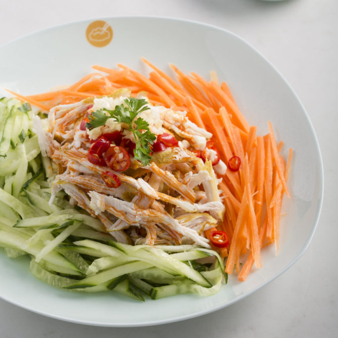 Shredded Chicken with Chilli Sauce 垂涎鸡丝